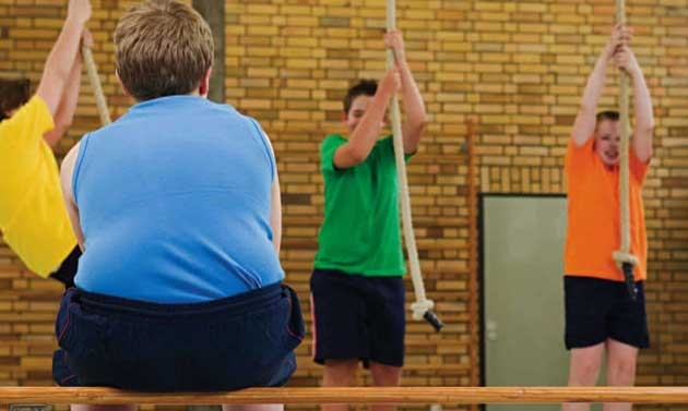 Sovrappeso, a rischio la vista dei bambini