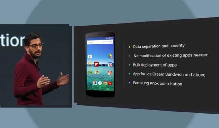 Android for Work: Google mira al mondo del lavoro