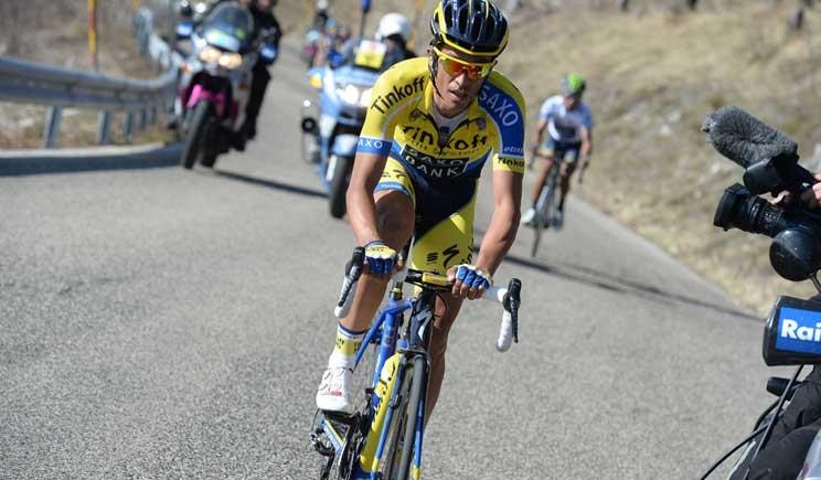 Al via la Tirreno-Adriatico, Contador favorito