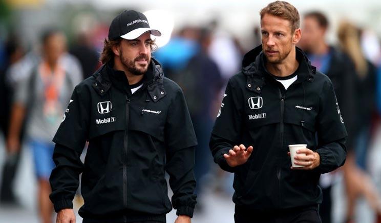 Button confermato dalla McLaren per il 2016