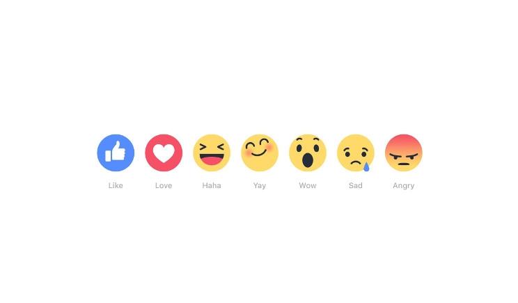 """Facebook: in arrivo cinque stati d'animo al posto del """"mi piace"""""""