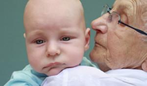 nonni, parenti e bambini