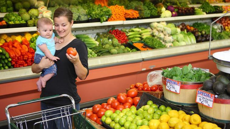Come portare i bambini al supermercato senza troppe ansie
