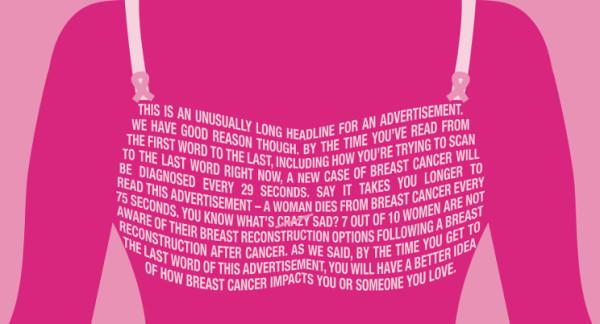 Tumore al  seno, pochi interventi ricostruttivi dopo la mastectomia