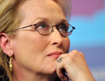 Meryl Streep alla festa del cinema di Roma