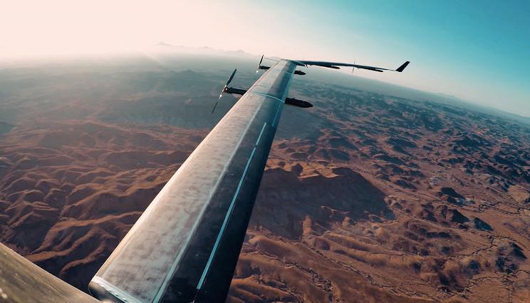 Facebook: il drone Aquila è sotto