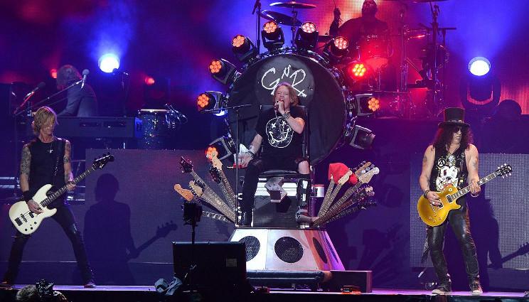 Guns 'N' Roses a Bologna nel 2017?