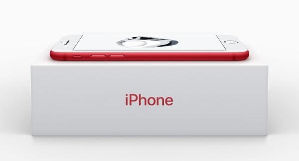 Ecco il primo iPhone 7 rosso!