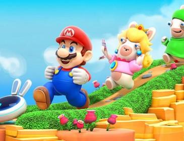 Super Mario incontra i Rabbids