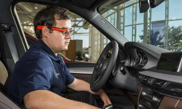 Google Glass impiegati nei test pre-serie di Bmw
