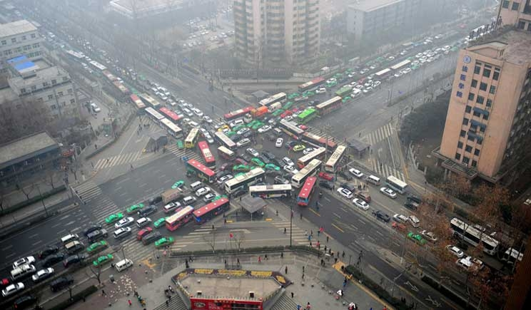 Smog: al semaforo rosso livelli da catastrofe