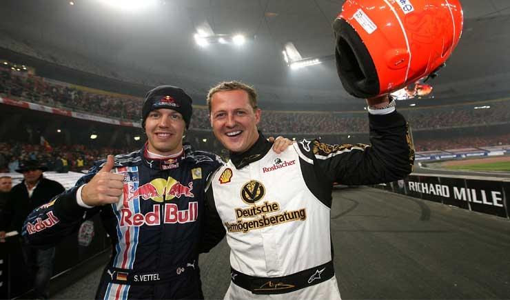 """Vettel :""""Alla Ferrari su consiglio di Schumacher"""""""