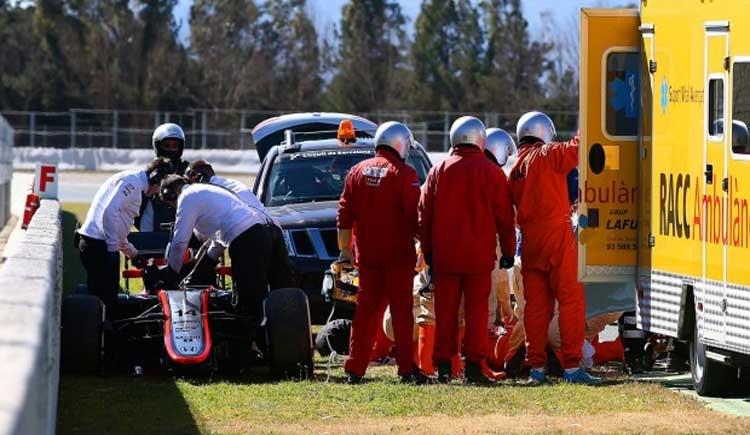 Ecclestone: l'incidente di Alonso è inspiegabile