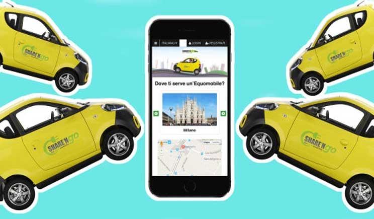 Share 'n Go: ecco il car sharing elettrico personalizzato