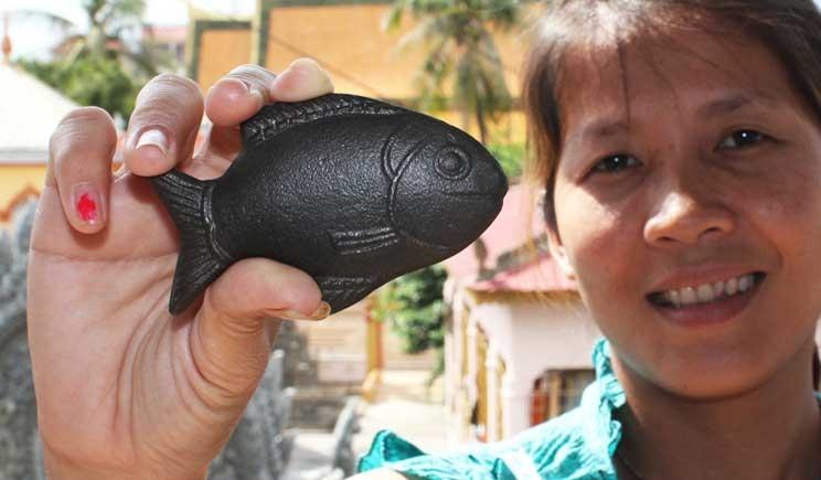 Lucky Iron Fish: un pesciolino portafortuna per curare l'anemia