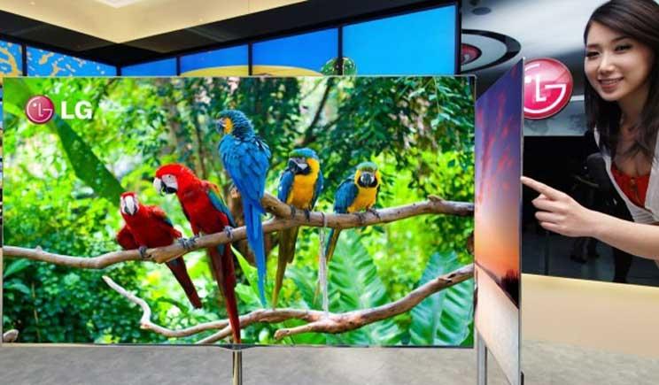 Ecco la Tv del futuro: sottile come un foglio e munita di magneti