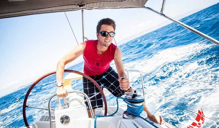 In barca a vela per battere la leucemia