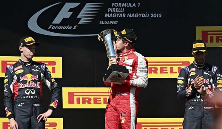 Vettel conquista il Gran Premio d'Ungheria. Le  pagelle