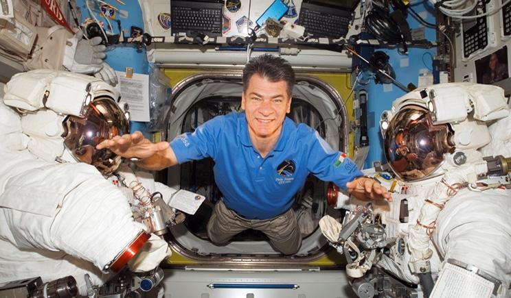 Paolo Nespoli torna sulla Stazione Spaziale a 60 anni