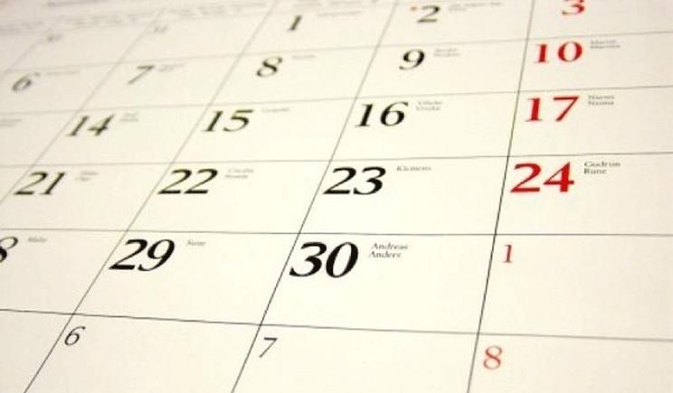 Perché confondiamo i giorni lavorativi della settimana?