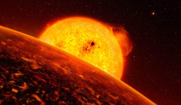 Scoperto un pianeta sosia della Terra dall'atmosfera rovente