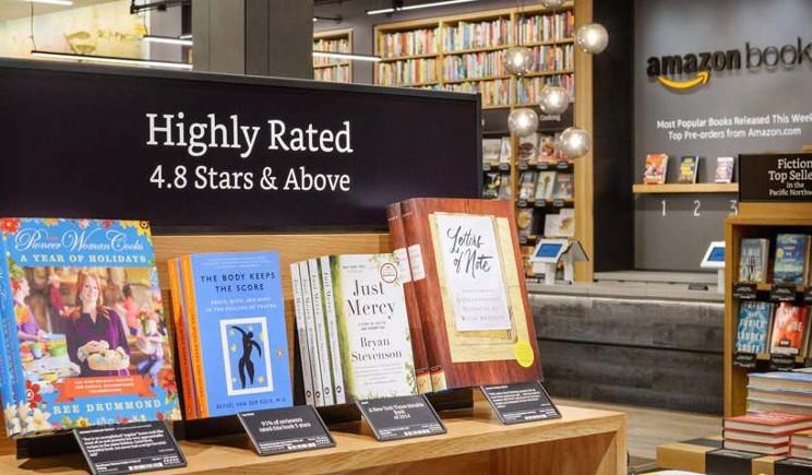 Amazon punta ad aprire 400 librerie