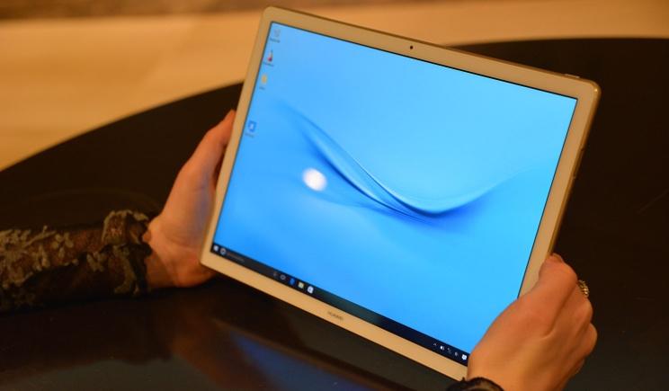 Huawei lancia MateBook, tablet ibrido con tastiera al seguito
