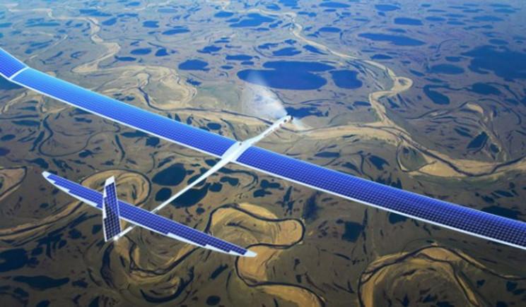 Google: al via i test sui droni solari per la rete 5g