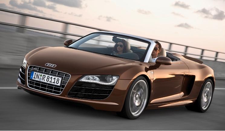 Audi R8 Spyder: in arrivo la scoperta da 540 cv