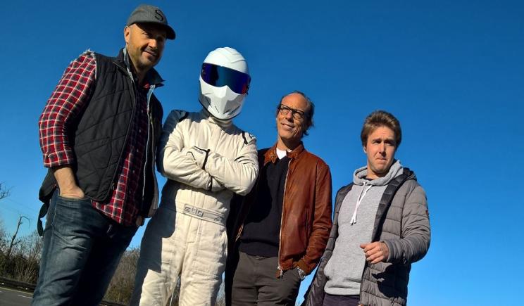 Joe Bastianich alla prova di Top Gear Italia