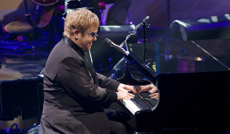 Pompei si tinge di rock con Elton John e David Gilmour