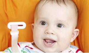 bambini e primi denti