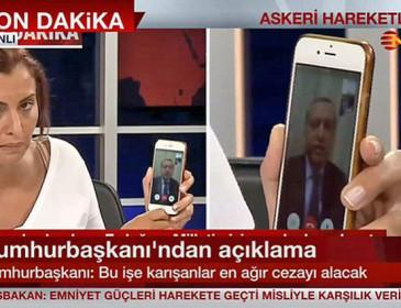 Erdogan e il Colpo di Stato sventato grazie a Facetime