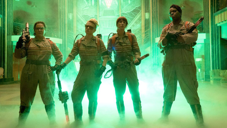 Tornano i Ghostbusters declinati al femminile