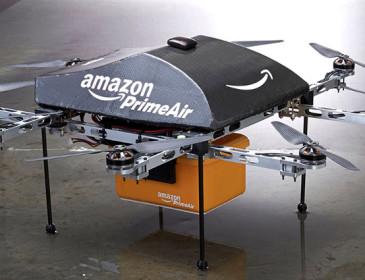 Amazon: al via i test per le consegne dei pacchi con i droni