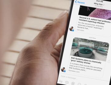 Facebook Messenger supera il miliardo di utenti al mese