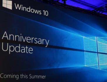 Windows 10 Anniversary Update, novità in arrivo