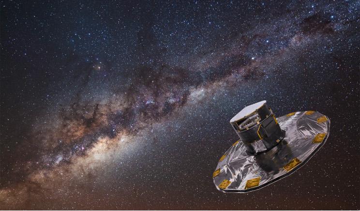 Gaia, ecco la mappa della Via Lattea in 3D