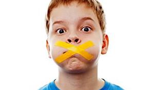 parolacce, bambini e castighi
