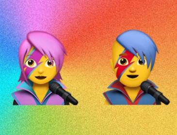 Apple, anche David Bowie tra le nuove emoji