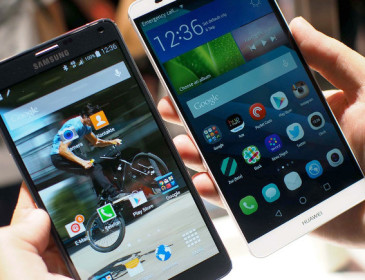 Huawei supera Samsung tra i dispositivi Android